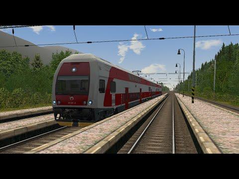 Microsoft Train Simulator - trať 321   Os 7810 Košice - Poprad-Tatry Ep. 2 - YouTube