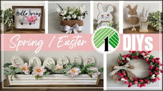 Dollar Tree DIY Spring Easter Decor 2020 | Easy DIY Decor Ideas | Momma From Scratch