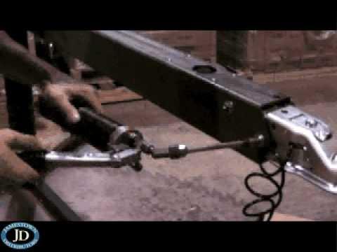 Boat Trailer Brakes >> Tie Down Marine 70LP Brake Actuator Replacement - YouTube