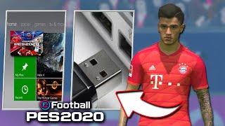 🎮O NOVO PES 2020 NO XBOX 360 - INSTALE DO ZERO esse *NOVO PATCH* em seu XBOX TUTORIAL PASSO A PASSO