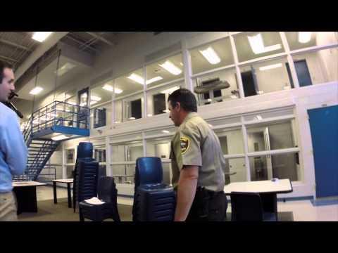 arkansas 911 news - GARCO new jail walk through