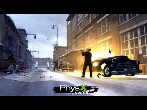Mafia II PhysX Trailer