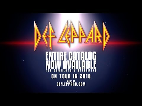DEF LEPPARD - New Tours + Stream and Download Entire Catalog Now