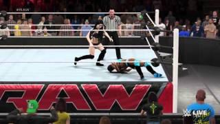 WWE Divas Storyline 30 2K15  *RAW*  Week 4