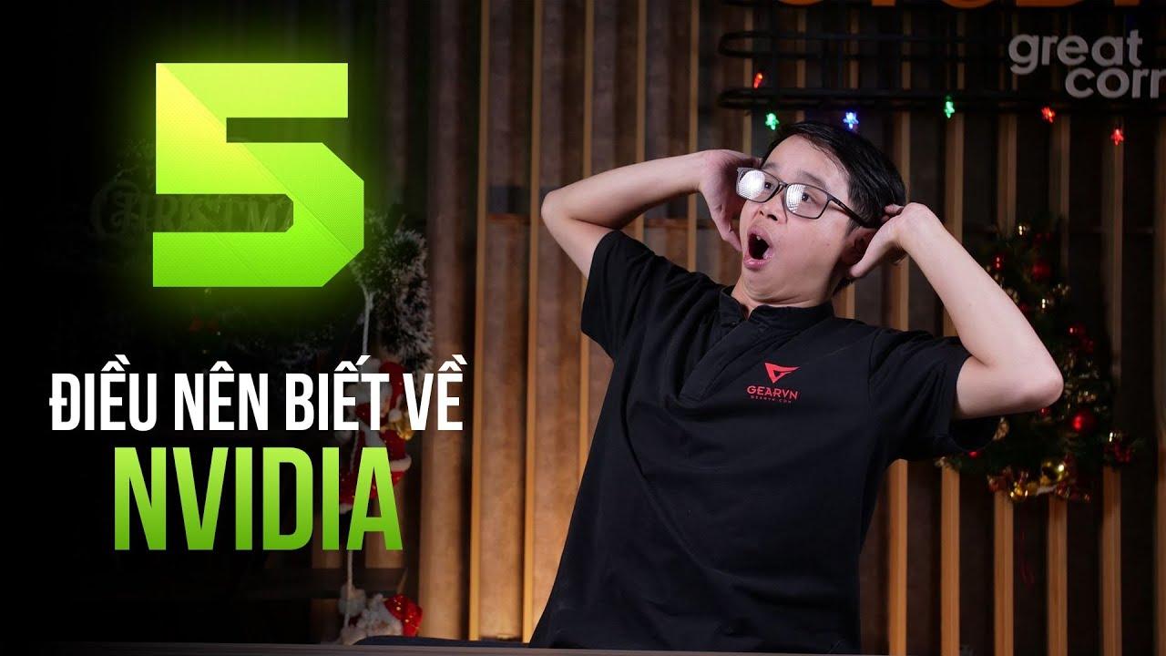 5 Điều nên biết khi sử dụng VGA Nvidia