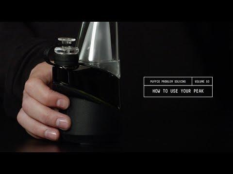 How to use the Puffco Peak