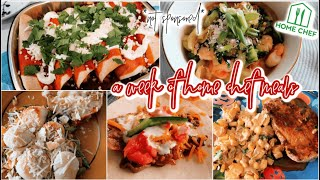 A FULL WEEK OF HOME CHEF MEALS Not Sponsored Honest Review Of Home Chef