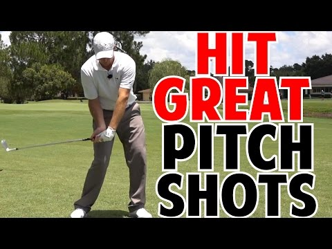How to Hit Great Pitch Shots | Keep the Body Moving
