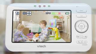 "VTech VM352 5"" Digital Video Baby Monitor with Wide-Angle Lens and Standard Lens"