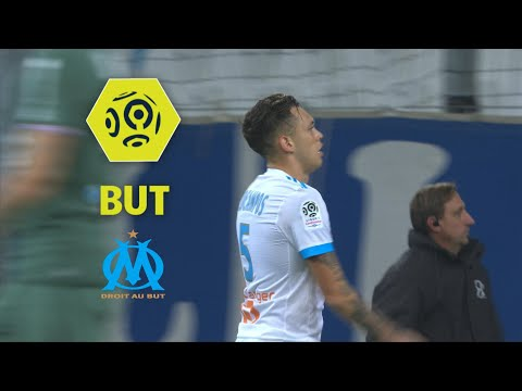 But Lucas OCAMPOS (80') / Olympique de Marseille - AS Saint-Etienne (3-0)  / 2017-18