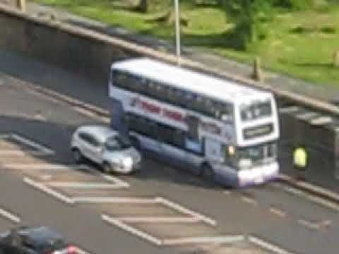 Youths attack black kid on bus. Gorbals Glasgow 26/05/2018