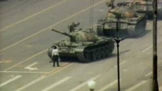 Tank man (now with more raw footage)