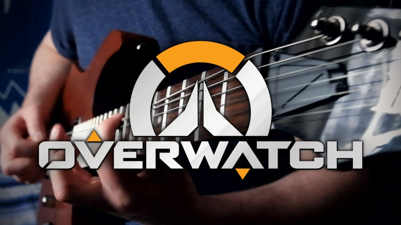 how to play overwatch theme on guitar