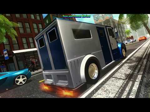 Bank Manager Cash Transport Truck 3D 2017 Gameplay Android New