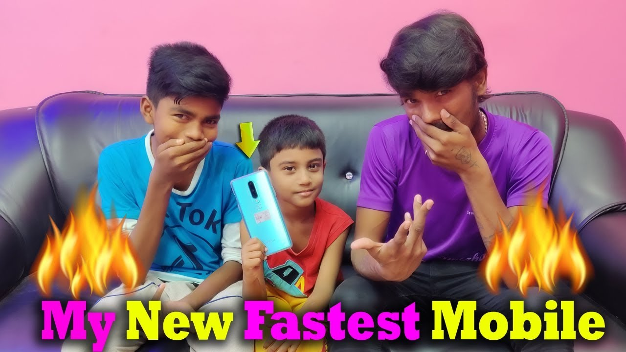My New 50000RS Fastest Mobile My Reaction | Gaming Tamizhan New Mobile Video | One Plus 8 Mobile