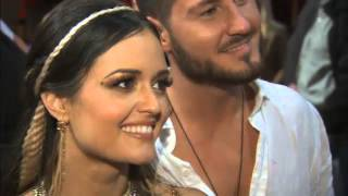 Danica McKellar, Valentin Chmerkovskiy interview after 'DWTS' week 2 Video