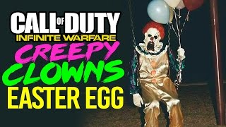 INFINITE WARFARE: CREEPY CLOWN EASTER EGG (Newest Clowns sighting)