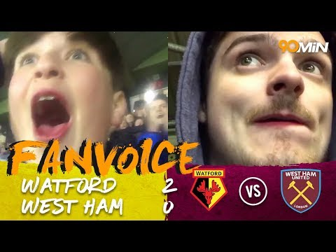 Hughes and Richarlison goals sink West Ham to defeat at Watford!| Watford 2-0 WHUFC | 90min FanVoice