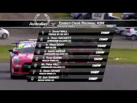 Round 4 Eastern Creek Intro & R1- 2010 Vodka O Australian GT Championship