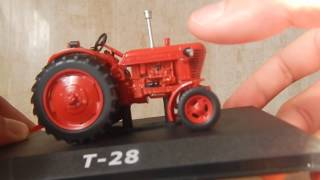 Т-28 ''Володимирець''. Огляд моделі 1:43 Трактори: Історія, люди, машини.