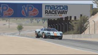 Assetto Corsa Ford GT40 Hot Lap at Laguna Seca | DriveTribe Racing League