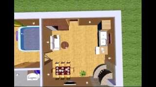 ArCon 3D проект сауны видео обзор
