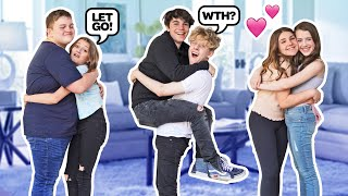 Last To STOP HUGGING Wins $10,000 Challenge**Gone Wrong**💵💋| Jentzen Ramirez