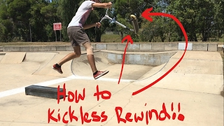 HOW TO KICKLESS REWIND ON A SCOOTER!! 2017