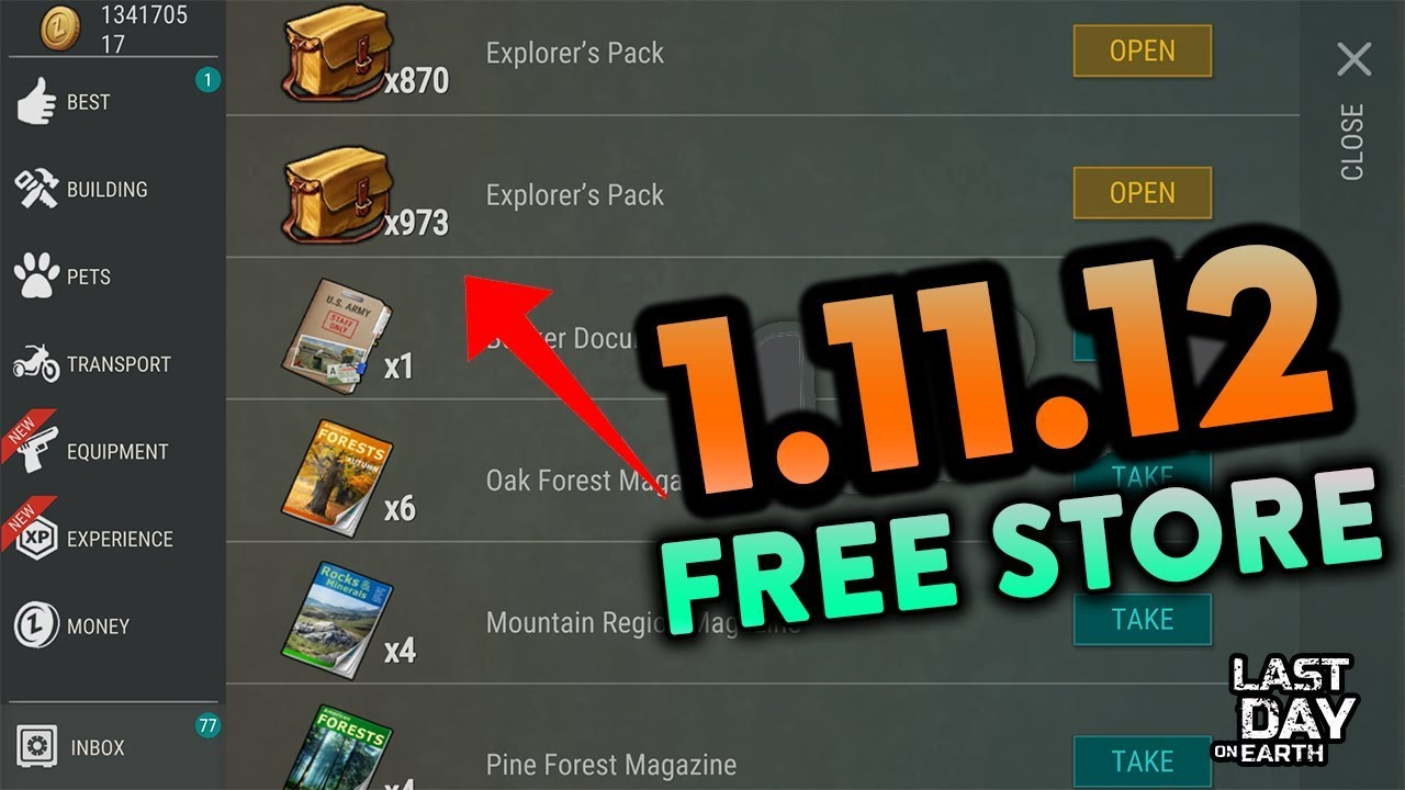 last day on earth free store
