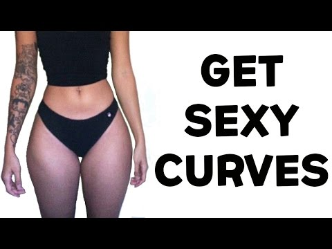 ❤️How To Get An Hourglass Figure Naturally | 4 Hourglass Figure Exercises For Sexy Curves!