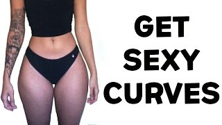 How To Get An Hourglass Figure Naturally | 4 Hourglass Figure Exercises For Sexy Curves!