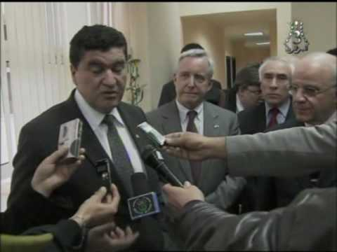 Science Envoy Elias Zerhouni on Algerian TV
