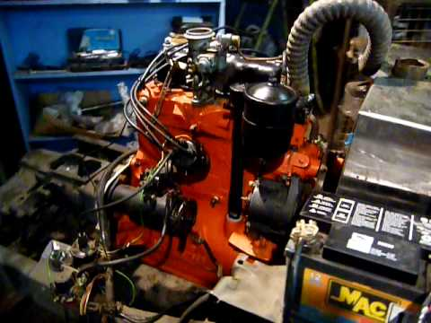 Willys jeep engine