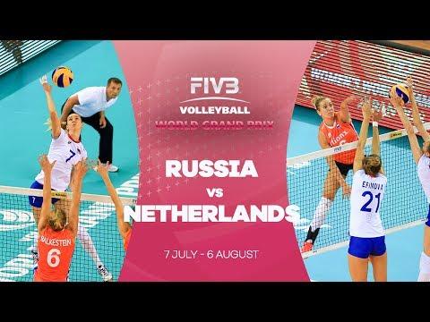 Russia v Netherlands - FIVB World Grand Prix