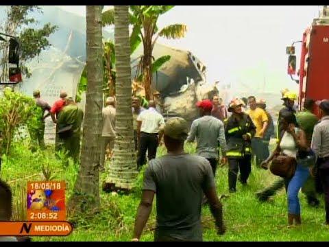 Primeras imágenes: Lugar del accidente de avión de Cubana (18-05-2018)