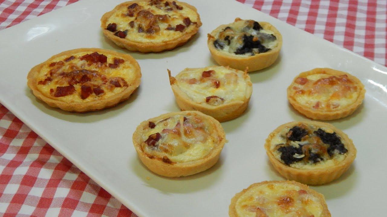 Cómo Hacer Tartaletas Con Masa Casera Y Rellenas Receta Fácil De Aperitivo Salado