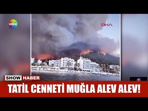 Tatil cenneti Muğla alev alev!