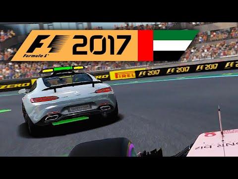 RACHE in Abu BUGdi | Abu Dhabi 1/2 🎮 F1 2017 #45