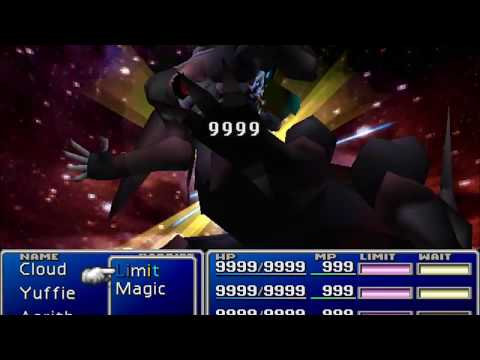 Final Fantasy VII - Hardcore Hack Ultimate Weapon - Penultimate and Secondary Weapon