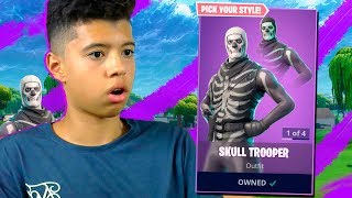 RETURN THE BEST AND MOST EXCLUSIVE SKIN OF FORTNITE *Skull Trooper*