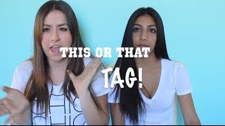 This or That TAG ft. Natalie! Thumbnail