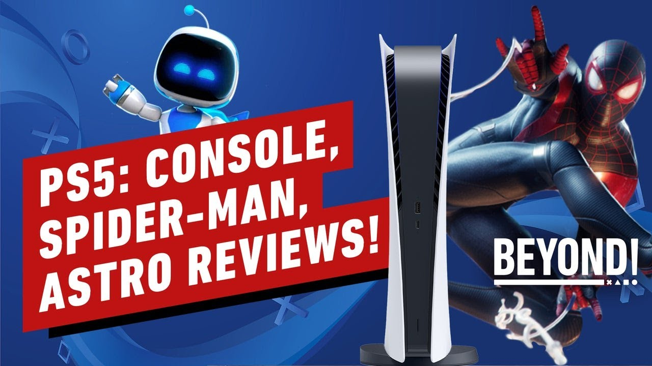 PS5 Review: Console, Spider-Man, and Astro's Playroom - Beyond Episode 673