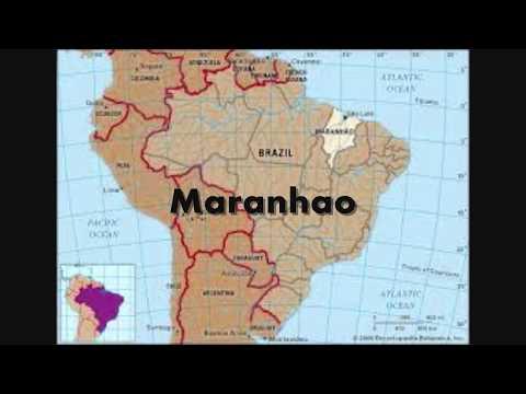 Brazilian states in alphabetical order