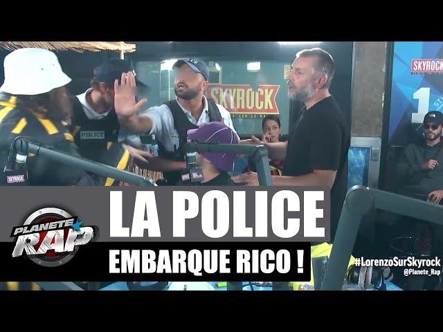 La police embarque Rico en direct ! #FreeRico #PlanèteRap