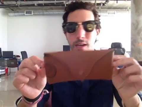 df86ff4f66 Ray-Ban RB3016 W0365 Sunglasses Review   Fitting (RB3016-01) - YouTube