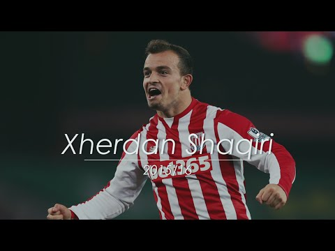 Xherdan Shaqiri | All Goals, Assists, Best Skills for Stoke City | 2015