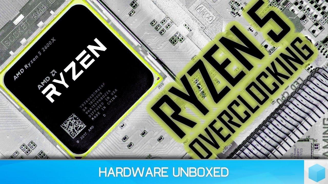 Ryzen 5 2600X Overclocking & Tweaking Methods Explored, Spend $$$ on  Cooling or RAM?