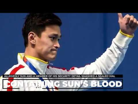 Vial Of Sun Yang's Blood Allegedly Smashed In Drug Test Altercation