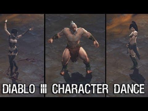 Как танцевать в диабло 3