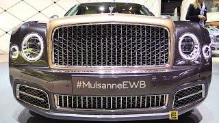 Bentley Mulsanne EWB 2017 Videos